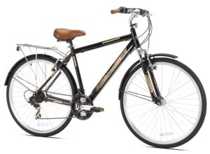 northwoods springdale men's 21-speed hybrid bicycle 700c